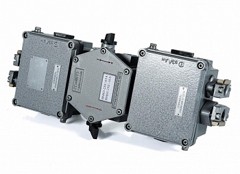 Explosion-proof switching modules from aluminum MKV