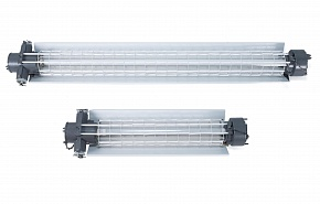 Explosionproof lighting fixture for linear fluorescent or LED lamps VELAN 55