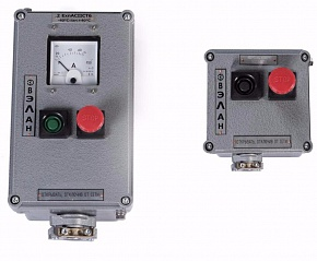 Explosionproof push-button stations PVK-ХХХХ from plastic or aluminum