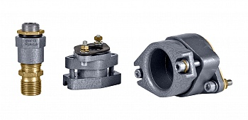 Explosionproof cable glands for armored and unarmored cable, pipe laying and cable in metal hose VK (Exe)