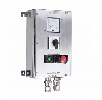 Explosionproof push-button stations PVK-N(S)-VEL from stainless steel