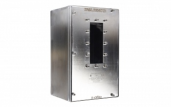 Enclosures of electrical devices OEAN-VEL and OEAS-VEL made from stainless steel and structural steel with corrosion-resistant coating