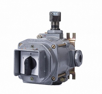 Explosionproof rotary switches from aluminum and plastic ExGN